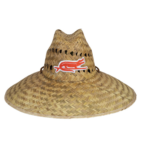 ADULT SURF GATOR STRAW HAT