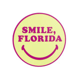 SMILEY FLORIDA STICKER