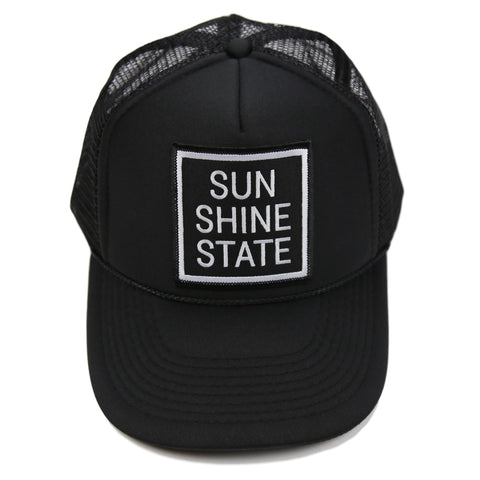 SUNSHINE STATE® TRUCKER - ALL BLACK - Sunshine State® Goods