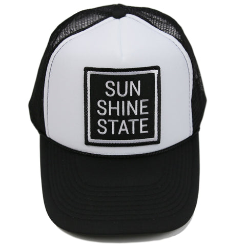 SUNSHINE STATE® TRUCKER - BLACK - Sunshine State® Goods