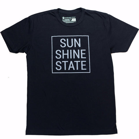 SUNSHINE STATE® TEE - BLACK - Sunshine State®