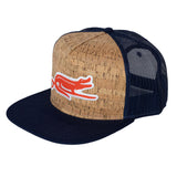 SURF GATOR TRUCKER - CORK / NAVY - Sunshine State® Goods