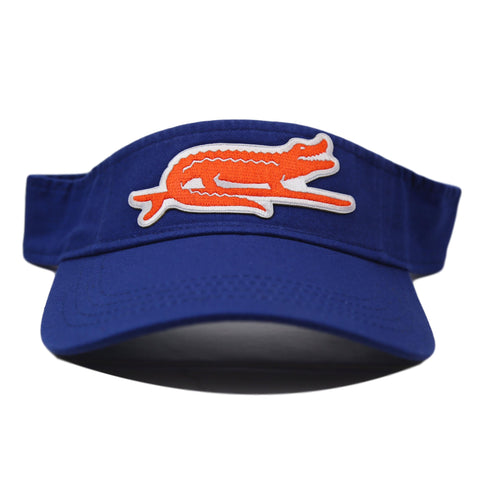 SURF GATOR VISOR - ROYAL BLUE
