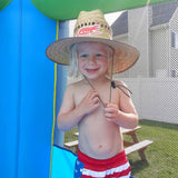 YOUTH LIFEGUARD STRAW HAT - SURF GATOR