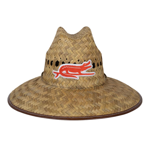 YOUTH LIFEGUARD STRAW HAT - SURF GATOR - Sunshine State® Goods