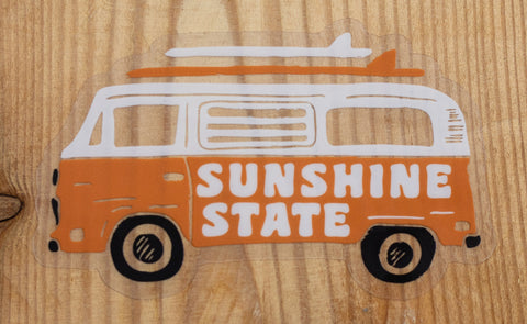 VAN LIFE CLEAR STICKER - Sunshine State® Goods
