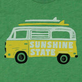 VAN LIFE YOUTH TEE - RETRO GREEN - Sunshine State® Goods