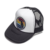 YOUTH FLORIDA SUNSET TRUCKER - BLACK - Sunshine State® Goods