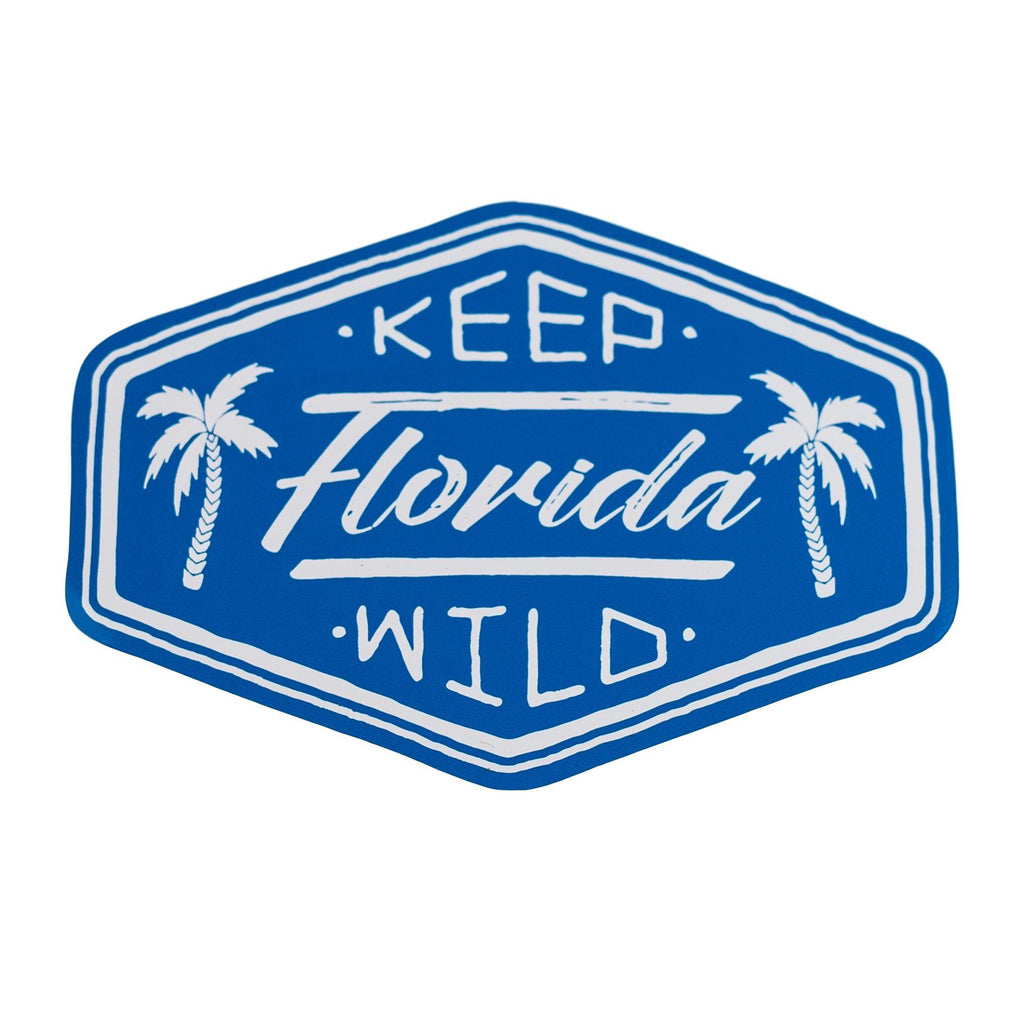 KEEP FL WILD STICKER - Sunshine State® Goods