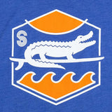SURF GATOR SUNSET TANK - VINTAGE ROYAL - Sunshine State® Goods
