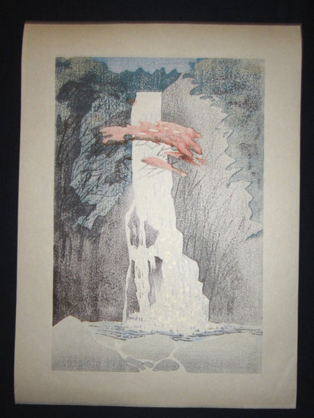 A Huge Orig Japanese Woodblock Print PENCIL Sign Limit# Liu Changqing 刘长青 1997