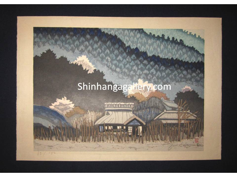 Junichiro Sekino LIMIT# Country Village Water Mark