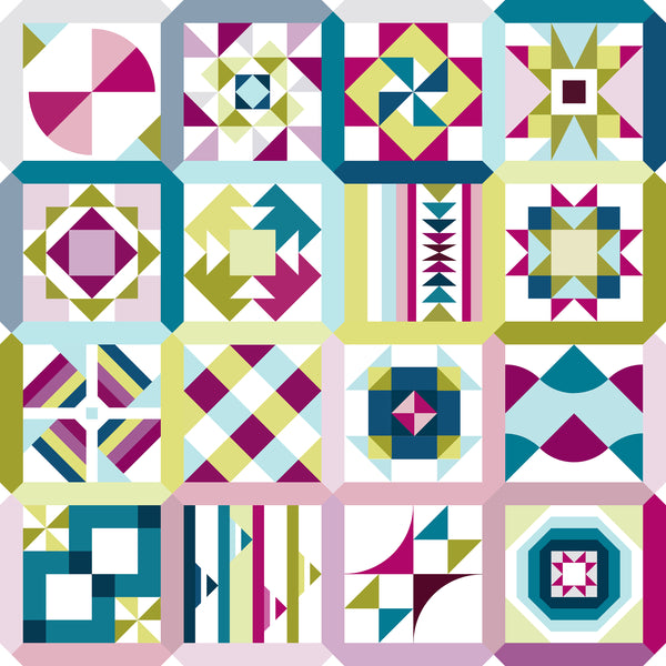 Summer Sampler Series patterns