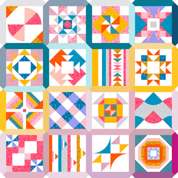 Summer Sampler 2020: Summer of Easy Piecing