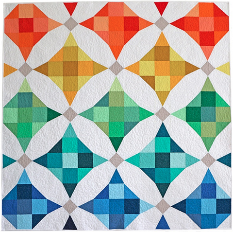 Terrazzo PDF Pattern - Freshly Pieced Quilt Patterns - 1