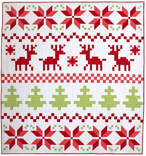 Fair Isle PDF Pattern - Freshly Pieced Quilt Patterns - 1