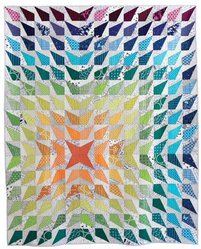 Wavelength PDF Pattern - Freshly Pieced Quilt Patterns - 1