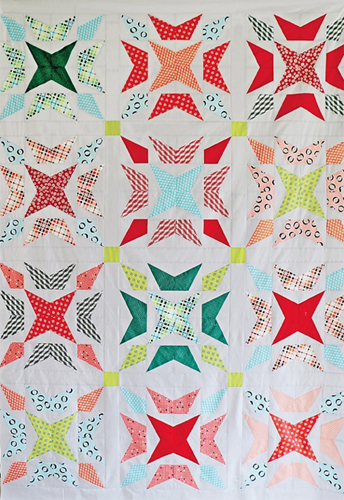Wavelength PDF Pattern - Freshly Pieced Quilt Patterns - 2