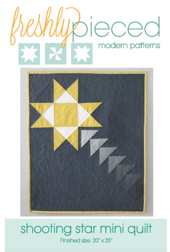 Shooting Star Mini Quilt PDF Pattern - Freshly Pieced Quilt Patterns - 2