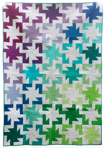 Sparkler PDF Pattern - Freshly Pieced Quilt Patterns - 1