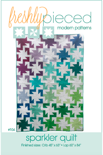 Sparkler PDF Pattern - Freshly Pieced Quilt Patterns - 3