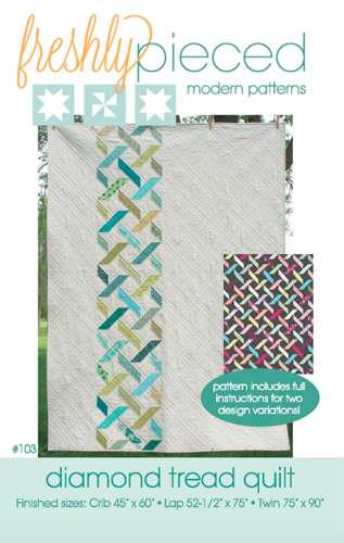 Diamond Tread PDF Pattern - Freshly Pieced Quilt Patterns - 3