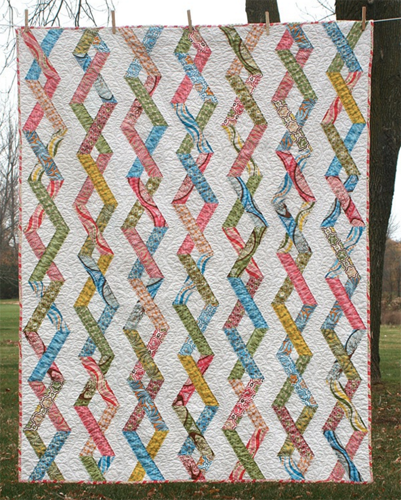 Chain Reaction PDF Pattern - Freshly Pieced Quilt Patterns - 1