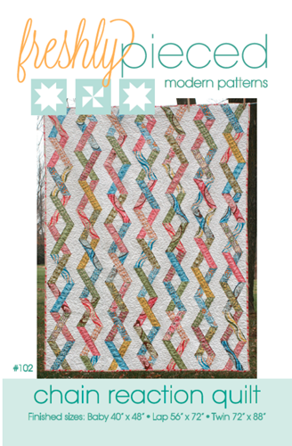 Chain Reaction PDF Pattern - Freshly Pieced Quilt Patterns - 4
