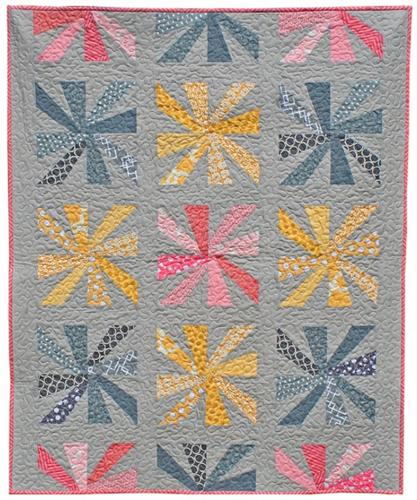 Cartwheels PDF Pattern - Freshly Pieced Quilt Patterns - 1