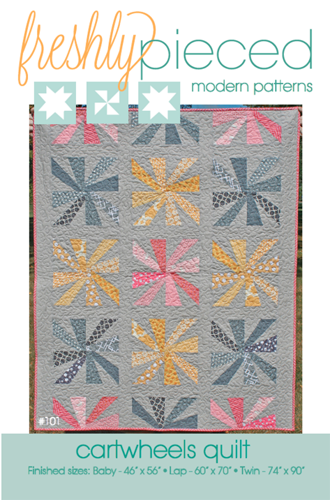 Cartwheels PDF Pattern - Freshly Pieced Quilt Patterns - 3