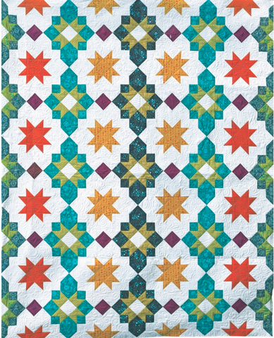 Moroccan Lanterns PDF Pattern - Freshly Pieced Quilt Patterns - 1