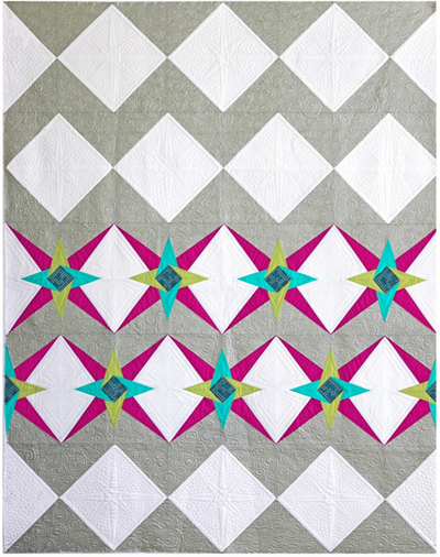 Chevron Star PDF Pattern - Freshly Pieced Quilt Patterns - 1