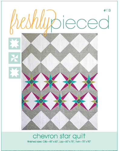 Chevron Star PDF Pattern - Freshly Pieced Quilt Patterns - 3