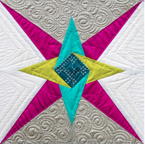 Chevron Star PDF Pattern - Freshly Pieced Quilt Patterns - 4