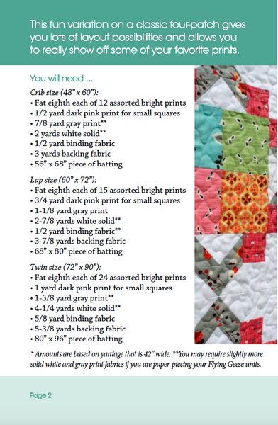 Cathedral Square PDF Pattern - Freshly Pieced Quilt Patterns - 2