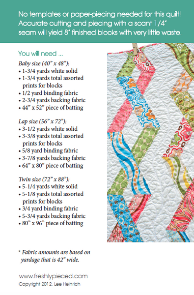 Chain Reaction PDF Pattern - Freshly Pieced Quilt Patterns - 2