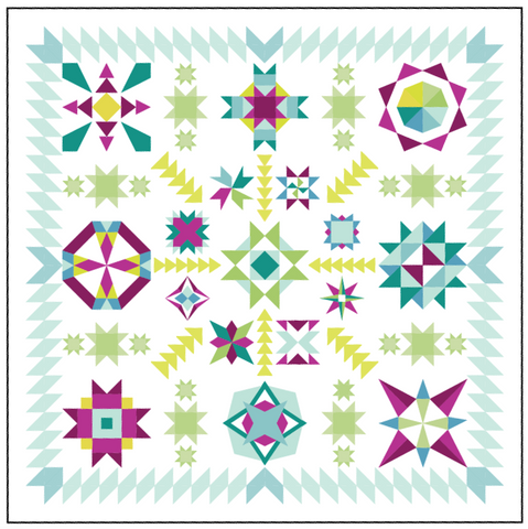 2017 Summer Sampler: Summer Star Medallion