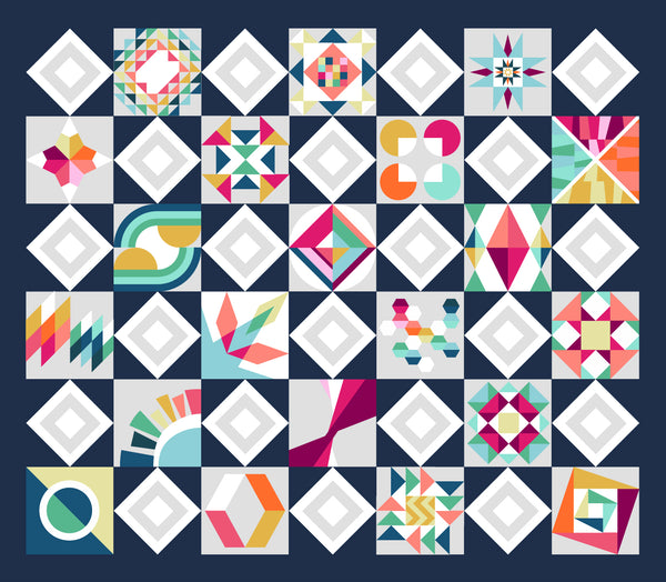 Summer Sampler 2019: Piecing Bootcamp
