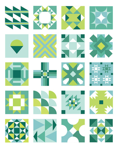 Summer Sampler 2016 - Freshly Pieced Quilt Patterns