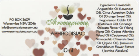 Aphrodisiac Essential Oil Blend - Sold out - aromaxioma