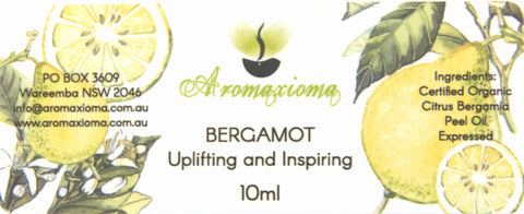 Bergamot Essential Oil- Citrus Bergamia - Out of stock - aromaxioma