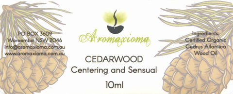 Cedarwood Atlas Essential Oil - aromaxioma