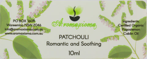 Patchouli Essential Oil - Pogostemon Cablin  - Out of stock - aromaxioma