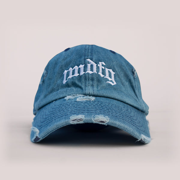 IMDFG Distressed Denim Hat