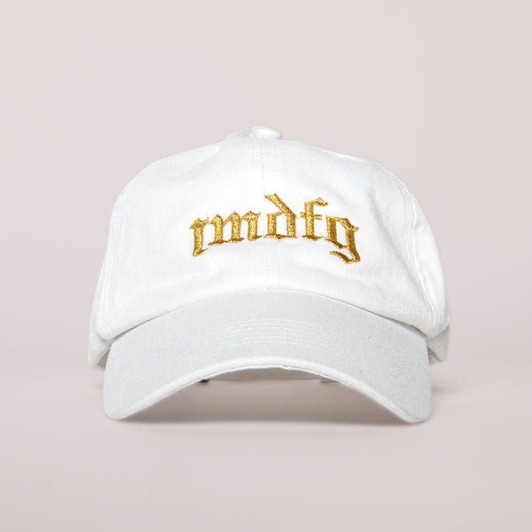 IMDFG Dad Hat White