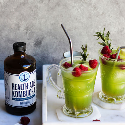 All Greens Kombucha Mocktail