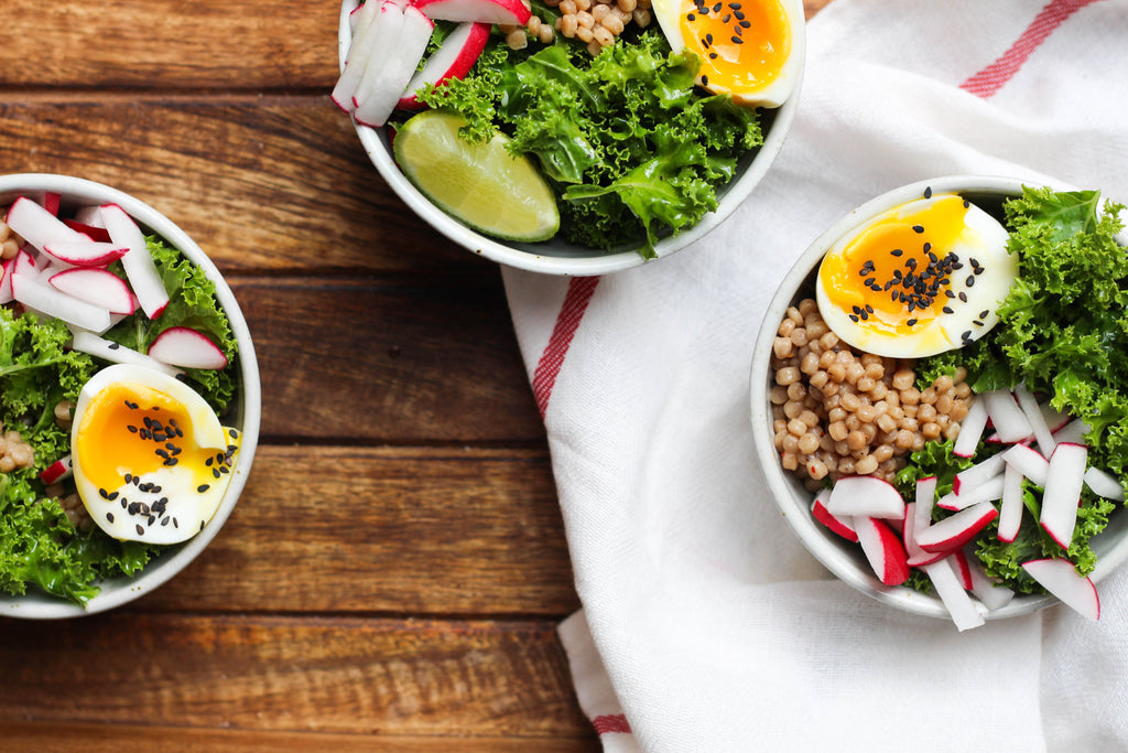 2 for $12: Soft Boiled Egg & Kale Bowl (All Organic!)