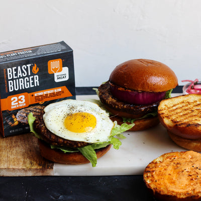 Beyond Meat & Milk and Eggs Mashup Recipe