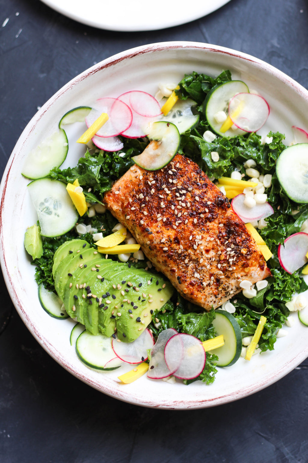 Grilled Honey Salmon Bowl