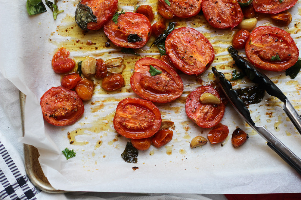 Milk and Eggs 101: Roasted Tomatoes
